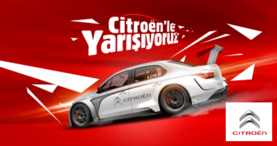 Racing with Citroen!