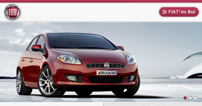 FIAT Mobile Website
